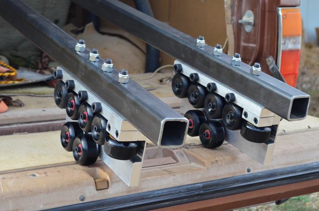 Cupola rails